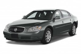2010 Buick Lucerne 4-door Sedan CXL Angular Front Exterior View