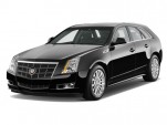 2010 Cadillac CTS Wagon 5dr Wagon 3.6L Premium RWD Angular Front Exterior View
