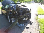 2010 Camaro SS accident