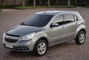 GM Brazil Unveils 2010 Chevrolet Agile