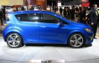 2010 Detroit Auto Show: 2011 Chevrolet Aveo RS Concept Live Gallery