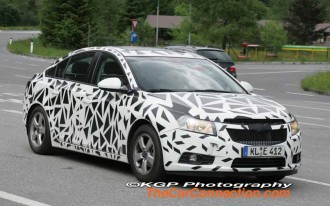 2011 Chevrolet Cobalt: Spied!