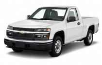 "2010 Chevrolet Colorado 2WD Reg Cab 111.2"" Work Truck Angular Front Exterior View"
