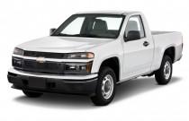 "2010 Chevrolet Colorado 2WD Reg Cab 111.2"" Work Truck Angular Front Exterior View"