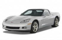 2010 Chevrolet Corvette 2-door Coupe w/3LT Angular Front Exterior View