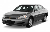 2010 Chevrolet Impala 4-door Sedan LT Angular Front Exterior View