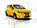 2010 Chevrolet New Sail hatchback, sold in China