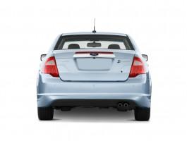 2010 Ford Fusion Hybrid 4-door Sedan Hybrid FWD Rear Exterior View