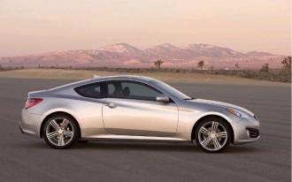 2010 Hyundai Genesis Coupe Gets Mid-Year Nav, Tech Update