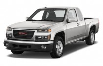 "2010 GMC Canyon 2WD Ext Cab 125.9"" SLE1 Angular Front Exterior View"