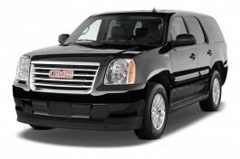 2010 GMC Yukon Hybrid 2WD 4-door Angular Front Exterior View