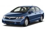 2010 Honda Civic Hybrid 4-door Sedan L4 CVT Angular Front Exterior View