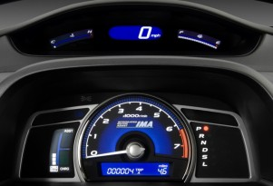 2010 Honda Civic Hybrid 4-door Sedan L4 CVT Instrument Cluster
