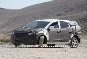Spy Shots: 2010 Hyundai Portico