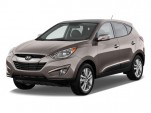 2010 Hyundai Tucson FWD 4-door I4 Auto Limited PZEV Angular Front Exterior View