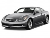 2010 Infiniti G37 Coupe 2-door Base RWD Angular Front Exterior View