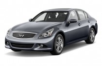 2010 Infiniti G37 Sedan 4-door Journey RWD Angular Front Exterior View