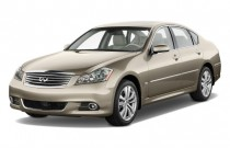 2010 Infiniti M35 4-door Sedan RWD Angular Front Exterior View