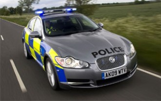Really Hot Pursuit? 2010 Jaguar XF Police Car Hits the Streets