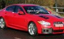 2010 Jaguar XF-R spy shot