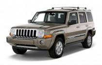 2010 Jeep Commander RWD 4-door Limited Angular Front Exterior View