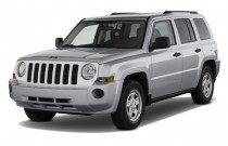 2010 Jeep Patriot FWD 4-door Sport Angular Front Exterior View