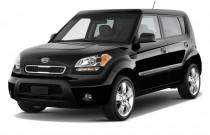 2010 Kia Soul 5dr Wagon Auto + Angular Front Exterior View
