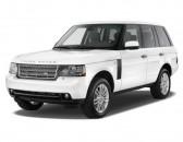 2010 Land Rover Range Rover 4WD 4-door HSE Angular Front Exterior View
