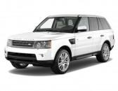 2010 Land Rover Range Rover Sport 4WD 4-door HSE Angular Front Exterior View