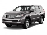 2010 Lexus GX 460 4WD 4-door Angular Front Exterior View