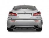 2010 Lexus IS F 4-door Sedan Rear Exterior View