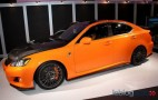 Stripped Out Lexus IS F Circuit Club Sports Concept Makes Debut