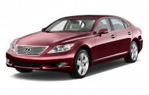 2010 Lexus LS 460 4-door Sedan L RWD Angular Front Exterior View