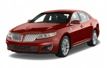 2010 Lincoln MKS 4-door Sedan 3.7L AWD Angular Front Exterior View