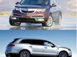 Compared: 2010 Lincoln MKT Vs. Acura MDX