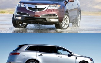 Compared: 2010 Lincoln MKT Vs. Acura MDX