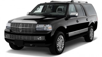 2010 Lincoln Navigator L 4WD 4-door Angular Front Exterior View