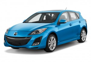 2010 Mazda MAZDA3 5dr HB Man s Grand Touring Angular Front Exterior View