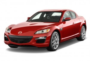 2010 Mazda RX-8 4-door Coupe Man Grand Touring Angular Front Exterior View