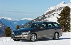Mercedes Shows Off 2011 E-Class Estate 4Matic In The Snow