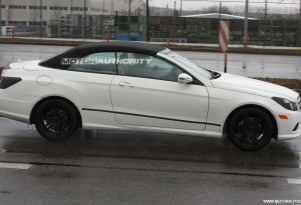 2010 mercedes benz e class cabrio spy shots february 001
