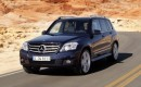 Off-Road with the 2010 Mercedes-Benz GLK