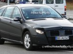 2010 mercedes benz r class facelift spy shots december 003