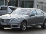 2010 Mercedes Benz S-Class AMG facelift spy shot