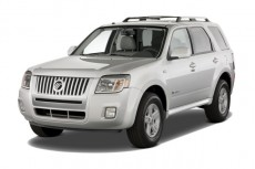 2010 Mercury Mariner Hybrid FWD 4-door Hybrid Angular Front Exterior View