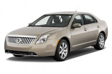 2010 Mercury Milan 4-door Sedan Premier FWD Angular Front Exterior View