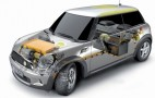 Technical details for Mini E electric vehicle