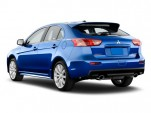 2010 Mitsubishi Lancer Evolution / Ralliart 5dr HB Ralliart Angular Rear Exterior View