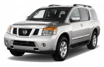 2010 Nissan Armada 2WD 4-door SE Angular Front Exterior View