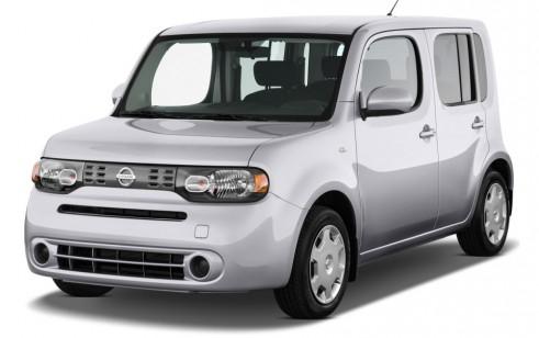 2010 Nissan Cube 5dr Wagon I4 CVT 1.8 S Angular Front Exterior View